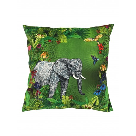 Housse de Coussin en velours Jungle Fever